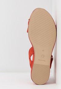 Tamaris - Platform sandals - flame - 6