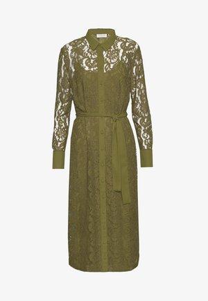 DRESS - Abito a camicia - leaf green
