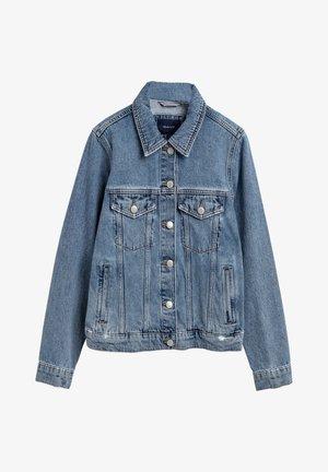 Denim jacket - semi light blue broken in