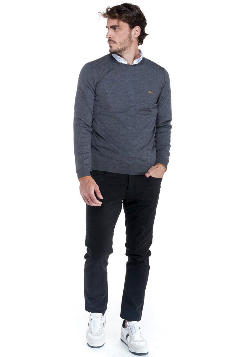 Harmont & Blaine - PARICOLLO TOTAL EASY CARE - Sweatshirt - grigio scuro