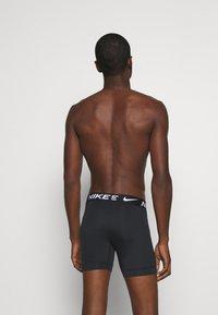 Nike Underwear - BOXER BRIEF 3PK MICRO - Shorty - black - 1