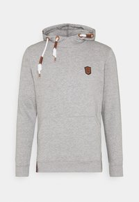 INDICODE JEANS - NEVILLY - Hoodie - light grey mix - 3
