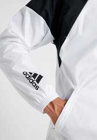 adidas Performance - Veste coupe-vent - white/black/glow pink - 5