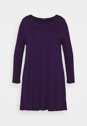 LONG SLEEVE TUNIC - Long sleeved top - purple