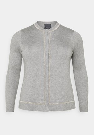 METALLO - Cardigan - grey