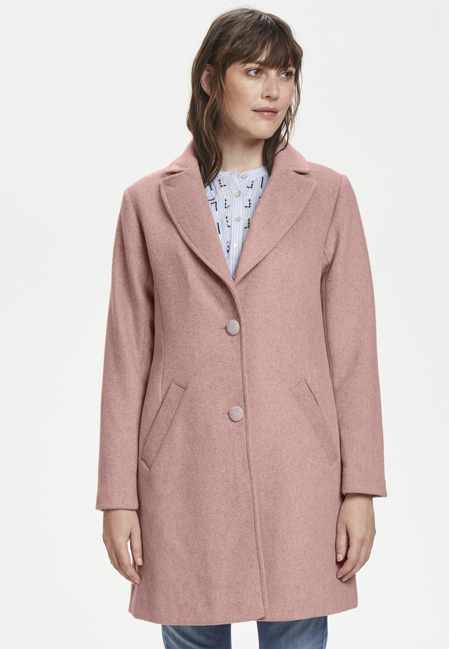 RAVENCR  - Classic coat - old rose