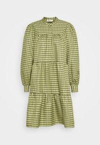 CAMILLE DRESS - Shirt dress - sage green