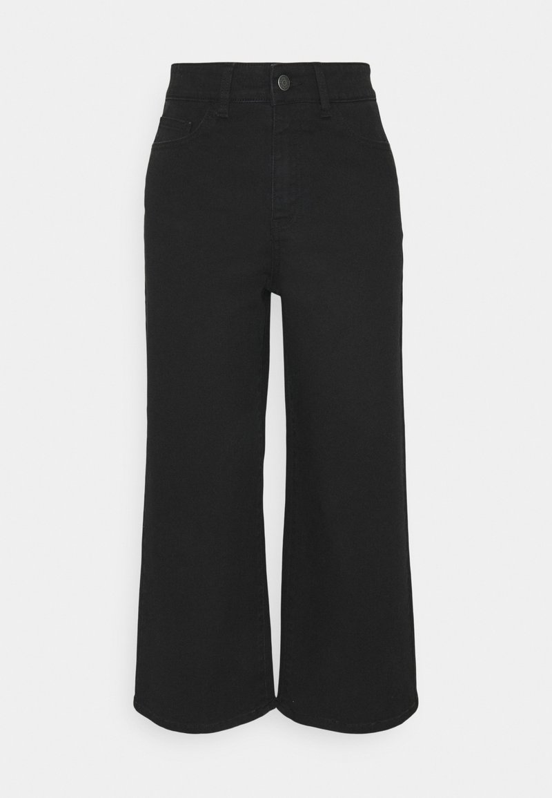 Object - OBJMARINA - Relaxed fit jeans - black