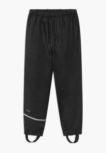 RAINWEAR PANTS SOLID UNISEX - Kalhoty do deště - black