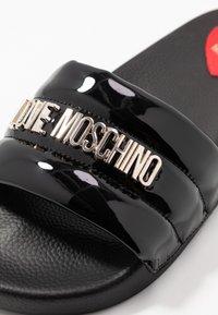 Love Moschino - Muiltjes - nero - 2