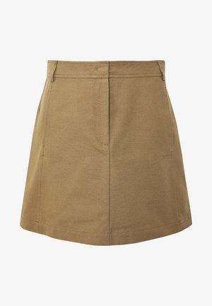CAVILLO - A-line skirt - brown