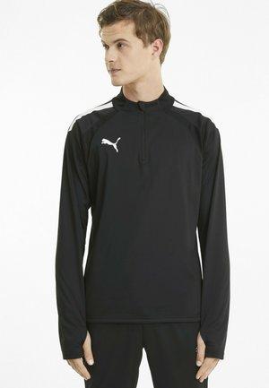 Long sleeved top - black-white