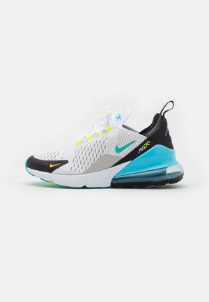 AIR MAX 270 GS UNISEX - Tenisky - white/hyper jade/black/light graphite