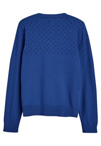 Next - Cardigan - mottled blue - 1