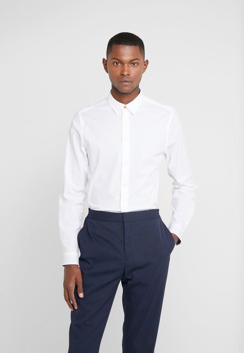 PS Paul Smith - SHIRT SLIM FIT - Formální košile - white