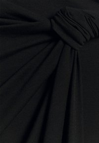 Anna Field - CLASSIC Front knot midi skirt - Pennkjol - black - 2