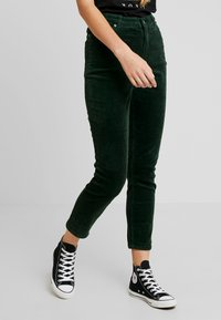 Monki - KIMMY TROUSERS - Trousers - green - 0