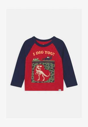 TODDLER BOY RAGLAN GRAPHICS - Long sleeved top - modern red