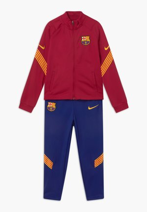 FC BARCELONA SET - Club wear - noble red/deep royal blue/amarillo