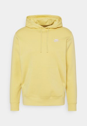CLUB HOODIE - Jersey con capucha - saturn gold/white
