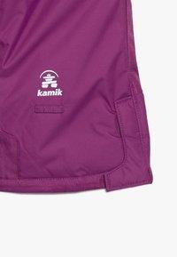 Kamik - WINKIESOLD - Spodnie narciarskie - berry - 5