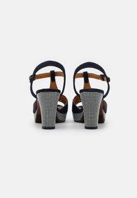 Chie Mihara - EGEO - Sandalen met plateauzool - nuit/miranda - 3