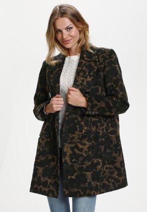 Classic coat - black leo