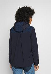CMP - WOMAN JACKET FIX HOOD - Outdoorjakke - dark blue - 2