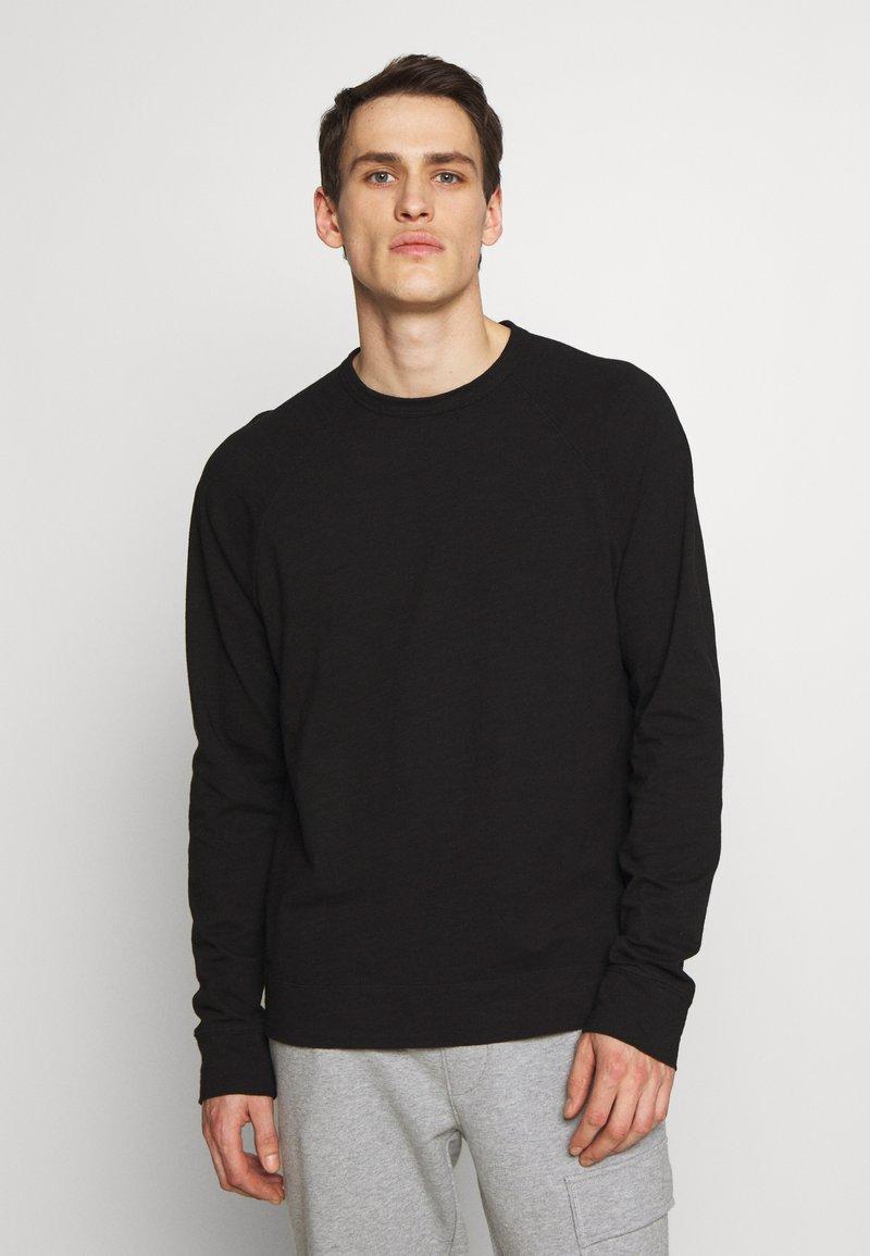 James Perse - RAGLAN - Long sleeved top - black