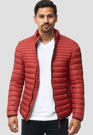 Light jacket - red ocher