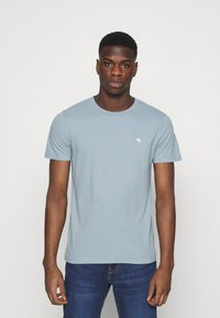 Abercrombie & Fitch - ICON CREW 5 PACK - Jednoduché triko - light blue - 5