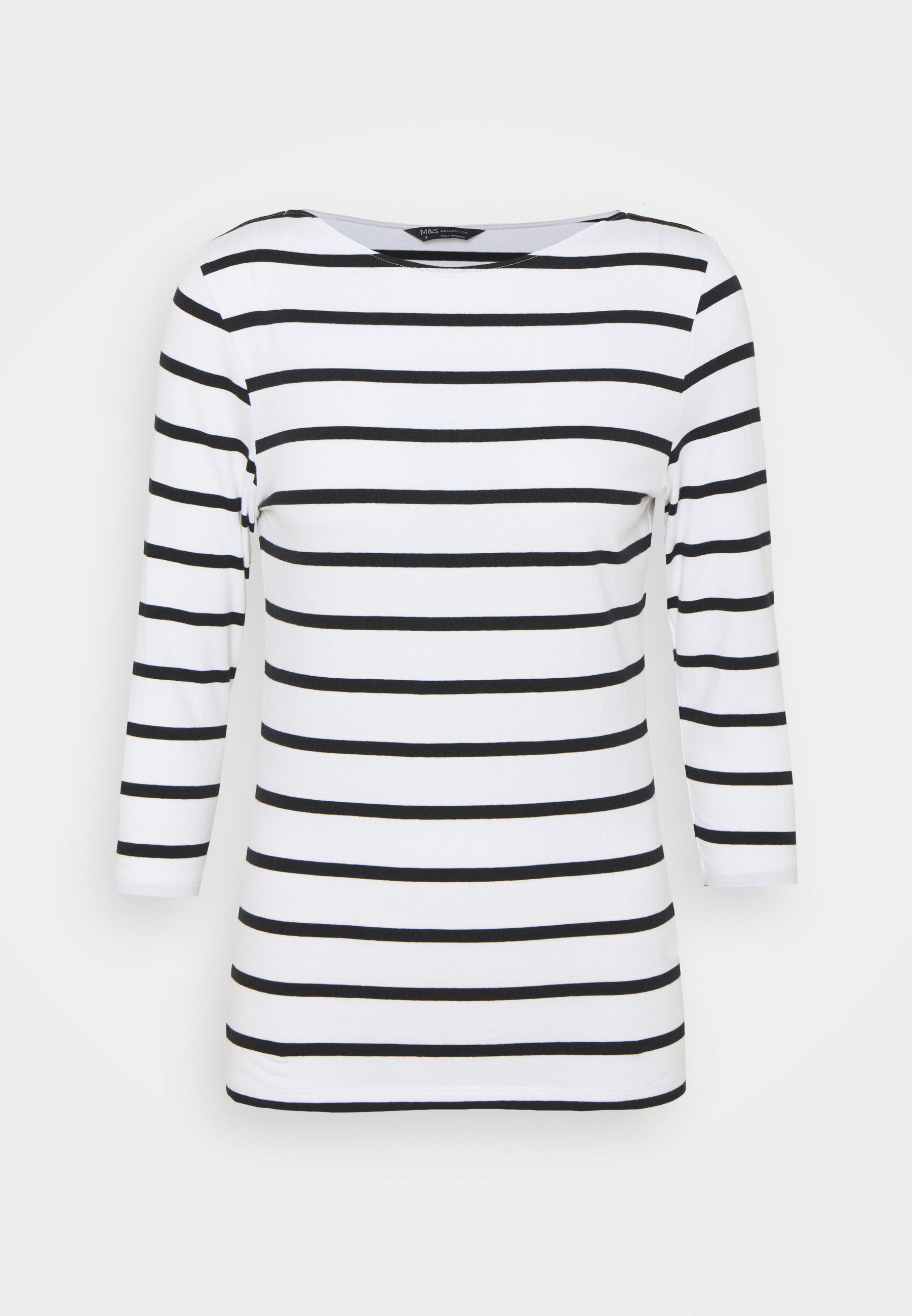 Damen FITTED STRIPE - Langarmshirt