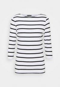 Marks & Spencer London - FITTED STRIPE - Long sleeved top - black - 0