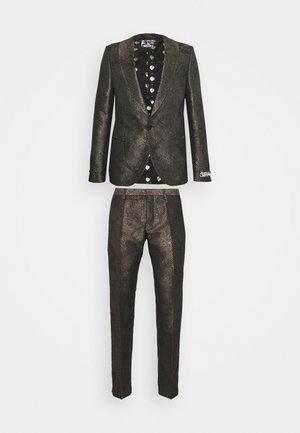 MIMIC SUIT - Suit - brown