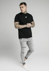 SIKSILK - CUFFED - Jeans Skinny Fit - washed grey - 1