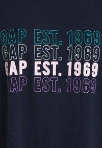 GAP - LOGO FASH TEE - T-shirts med print - navy uniform - 2