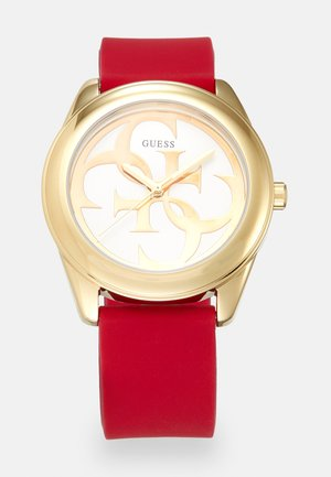 Watch - gold-coloured/red