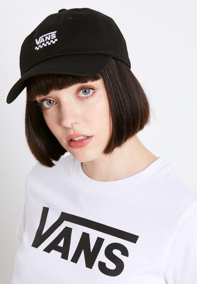 WM COURT SIDE HAT - Casquette - black checker