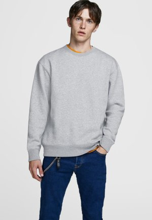 Sweatshirt - light grey melange