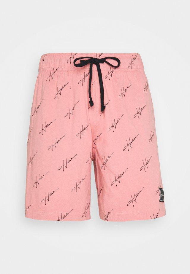 LOUNGE BOTTOM SHORTS - Pyžamový spodní díl - pink