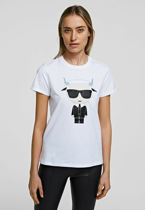 TAURUS - Print T-shirt - white