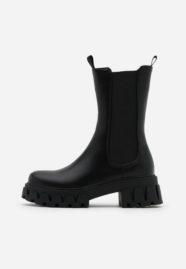 VEGAN SENTRY - Platform boots - black