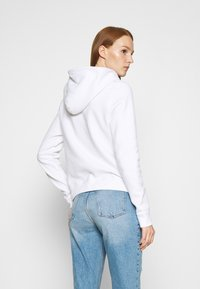 Abercrombie & Fitch - HERITAGE LOGO POPOVER - Hoodie - white - 2