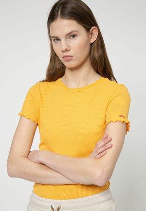 DIMARELLA - Print T-shirt - yellow