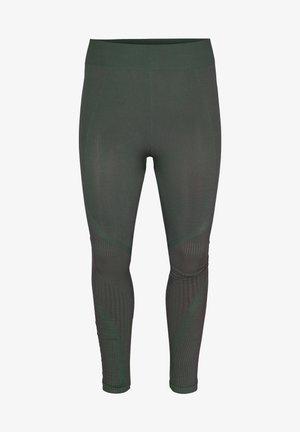 MIT STRUKTUR - Leggings - green