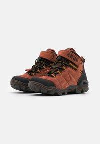 Primigi - UNISEX - Lace-up ankle boots - nero/testa di moro - 1