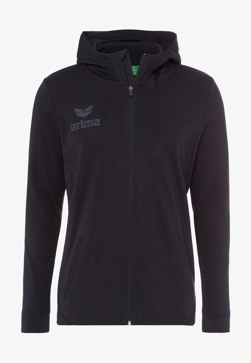 Erima - Zip-up hoodie - schwarz / grau