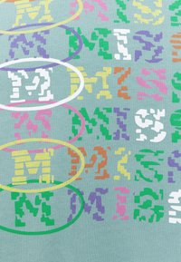 M Missoni - Print T-shirt - mottled teal - 5