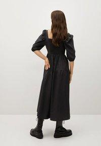 Mango - CRETA-L - Day dress - zwart - 1
