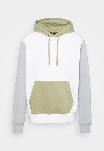 HOODIE  - Sweatshirt - summit white/light smoke grey